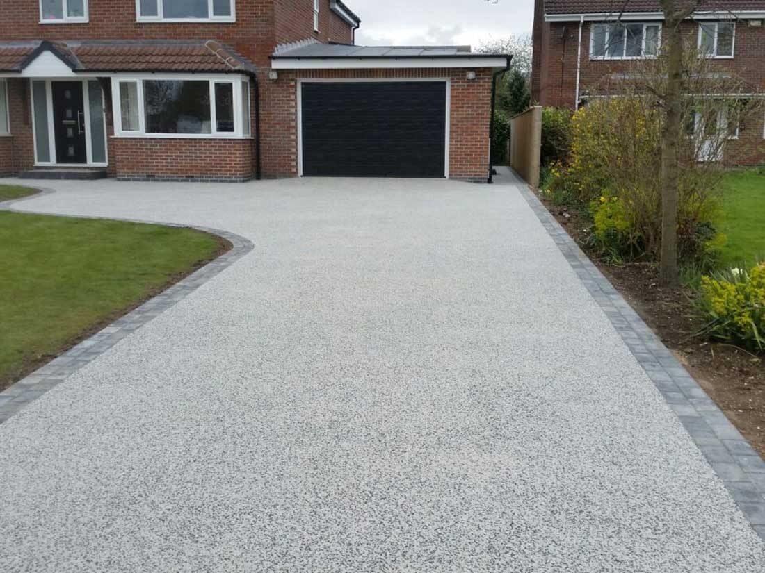 Resin Bound Driveway in Cambridge